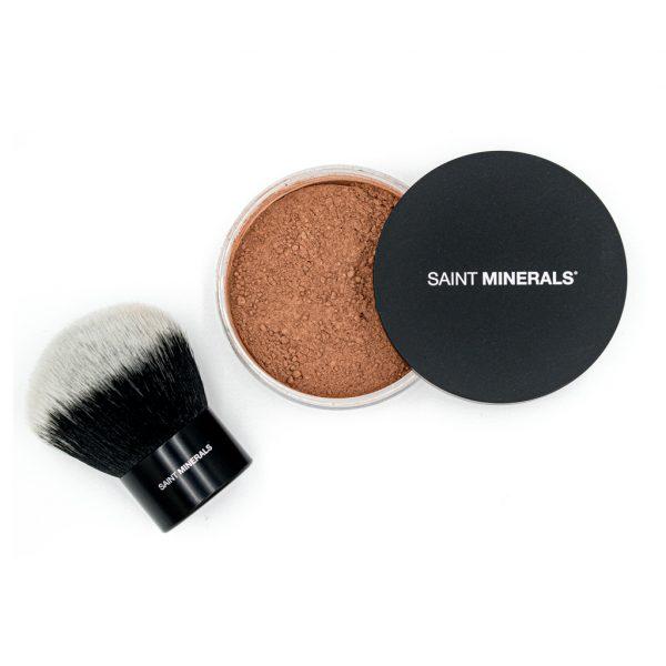 Bronzer and Kabuki brush